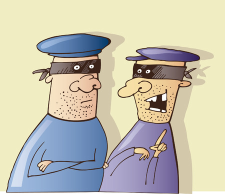 pickpocket: two thieves