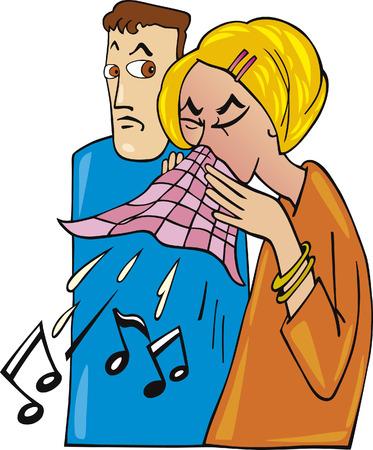 sickness: pareja y fr�a