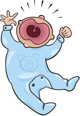 bebé llora