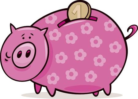 groin: piggy bank