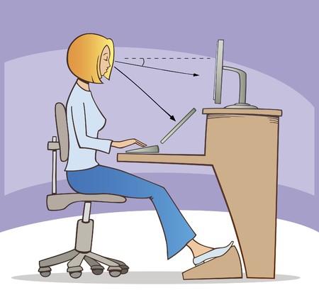 proper: modo corretto di lavoro sul computer