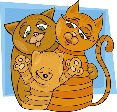 moggy: cats family