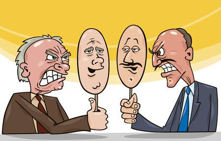 diplomacy: art of diplomacy Illustration