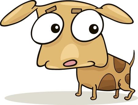 cartoon illustration of cute little dog Stock Vector - 8592007