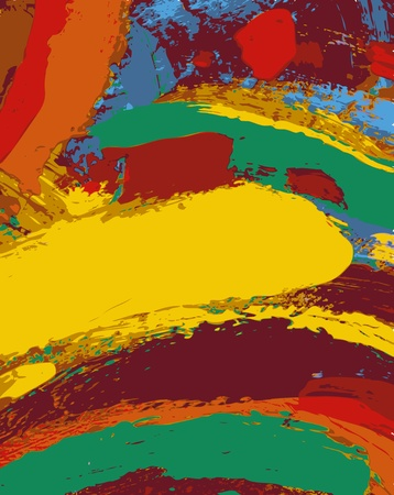 abstract painting background illustration Vector