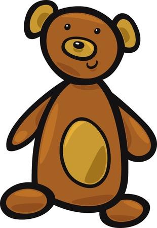 cute teddy bear toy Stock Vector - 9589503