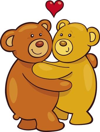osos de peluche: Osos de peluche en amor