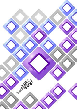 Vector Illustration of Abstract Background Design for Poster, Cover, Layout or Decoration