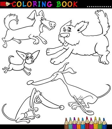 Malbuch Für Kinder Lustige Lächelnde Puppy Hund Jack Russell Terrier ...