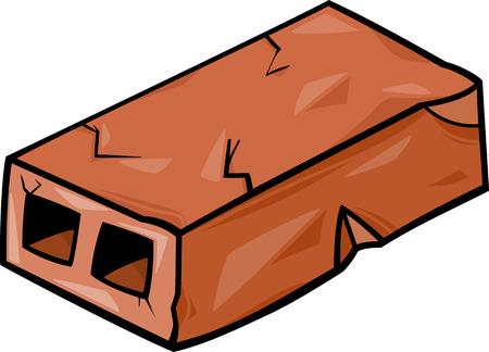 clip art: Cartoon illustrazione di Old Brick Wall Clip Art