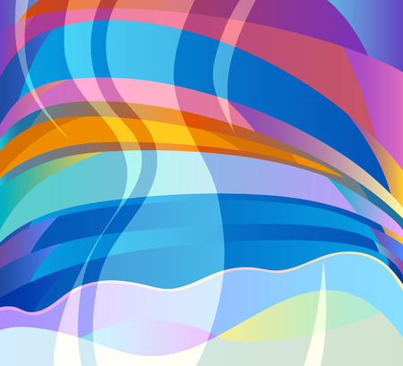 Vector Illustration of Abstract Colorful Energy Background Modern Template Design Vector