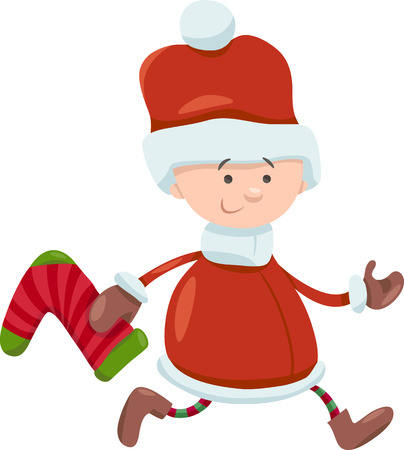 christmas sock:
