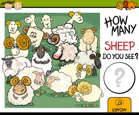 granja caricatura: Ejemplo de la historieta de Educaci�n Contando juego para ni�os en edad preescolar