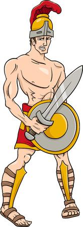 greek god: Ejemplo de la historieta de la mitolog�a griega Dios Ares
