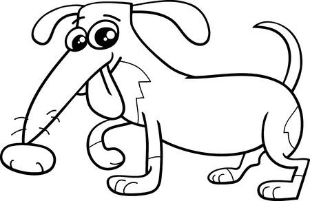 Ilustración De Dibujos Animados Blanco Y Negro De Corrientes ...