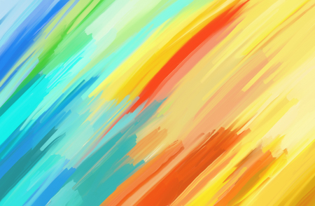 Digital Painting Abstract Textured Colorful Background