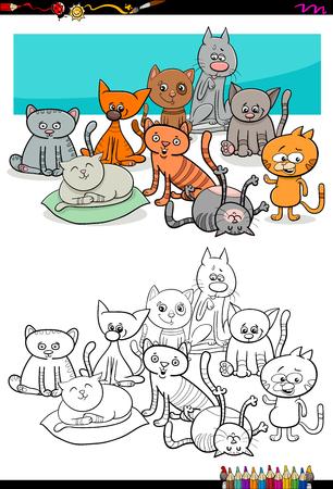Ilustración De Dibujos Animados De Los Niños Del Animal Para ...