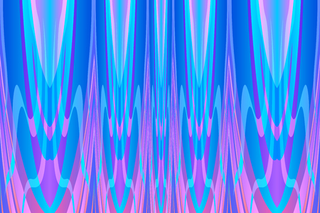 Vector Illustration of Abstract Wave Geometric Background Modern Texture Design