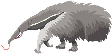 Cartoon Illustration of Funny Giant Anteater Wild Animal Character Ilustrace