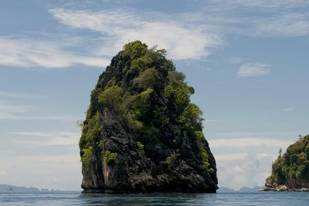 Raja Ampat Papua small island panorama