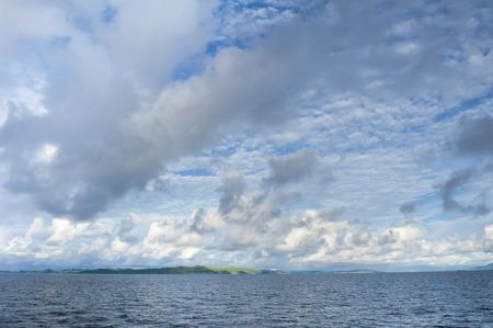 ethan: Raja Ampat islands landscape in Papua Indonesia