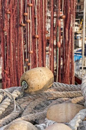 fishermans net: Fishermans net and fishing stuff