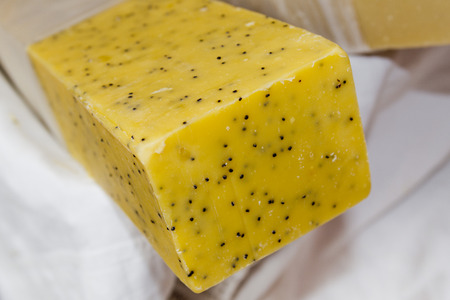 made by hand: natural hand made soap detail