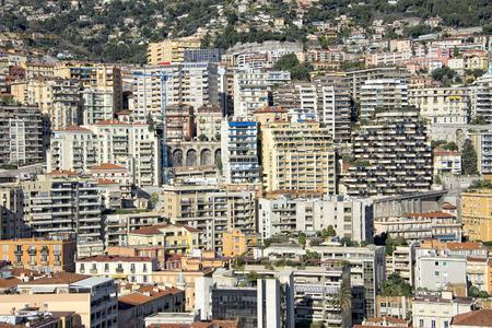 montecarlo: montecarlo monaco panorama landscape city view