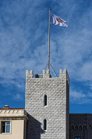 montecarlo: montecarlo monaco panorama palace view Editorial