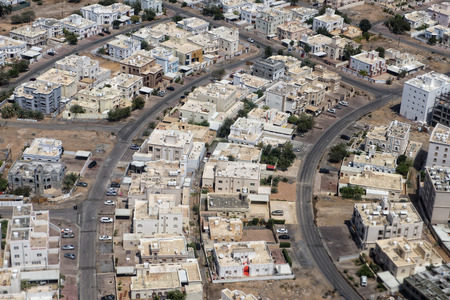 muscat: muscat oman sultanate aerial view