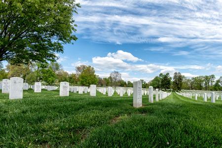 tombstones: arlington cemetery graveyard white tombstones