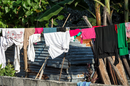 shack: hovel, shanty, shack in Cebu Philippines Stock Photo