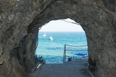 beach landscape: cinque terre beach landscape panorama