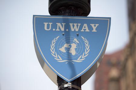 유엔 서명 방법 에디토리얼