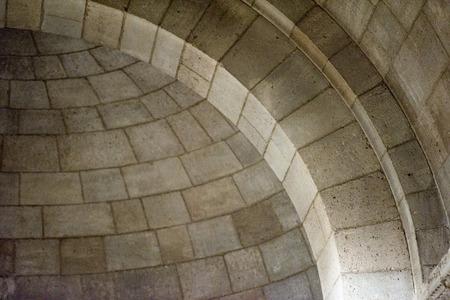 arcos de piedra: gótico iglesia medieval arcos de piedra detalle