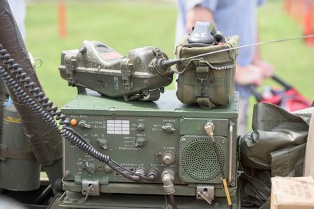 radio active: world war camp radio oon a car