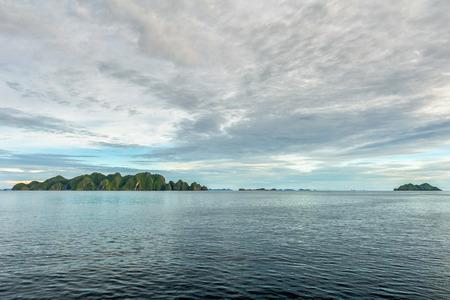 ethan: Raja Ampat Papua panorama landscape