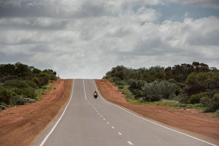 endless road: endless road in West Australia