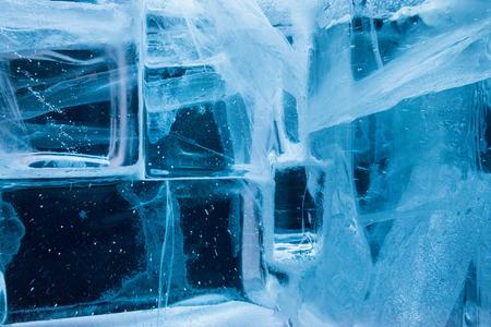ice blocks: ice blocks close up detail