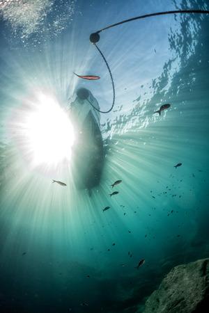 ancre marine: ancre bateau chaîne de sous-marin