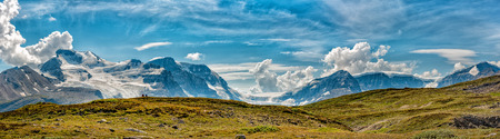 icefield: Canada Icefield Park glacier landscape