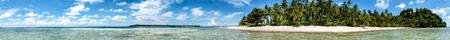 sipadan: Siamil island Sipadan, Borneo, Malaysia Tropical turquoise paradise white sandy beach panorama