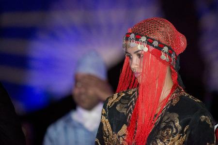 mediterranean culture: MARRAKESH, MAROC - JUNE 23, 2012 - International traditional festival of african mediterranean culture Editorial