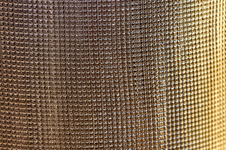 strass: deco lamp detail close up