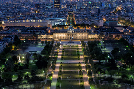 paris night: Paris night view cityscape landscape