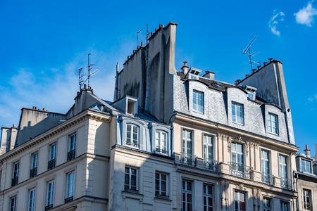 paris roofs and cityview landscape