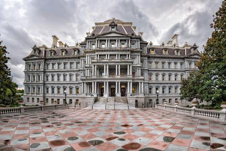 eisenhower: Eisenhower executive office building in Washington DC near white house Stock Photo