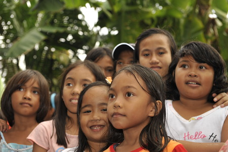 january 1: CEBU - PHILIPPINES - JANUARY,1 2013 - Annual orphan children party they receive food and gifts Editorial