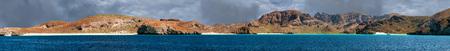 baja california la paz huge view tropical paradise crystal waters