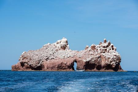 los islotes mexico espiritu santu island sea lion retreat Stock Photo